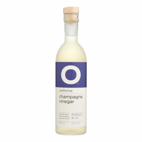 O Olive Oil - Vinegar Champagne - Case of 6 - 10.1 FZ Perspective: front