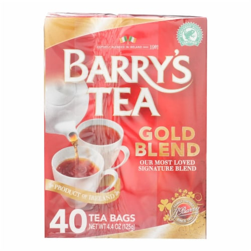 Barry's Tea - Tea - Gold Blend - Case of 6 - 40 Bags Perspective: front