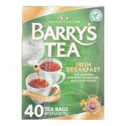 Barry's Tea - Tea - Irish Breakfast - Case of 6 - 40 Bags Perspective: front