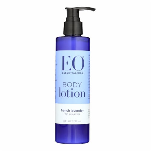 EO Products - Everyday Body Lotion French Lavender - 8 fl oz Perspective: front