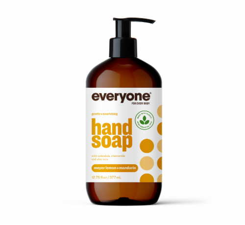 Everyone Meyer Lemon + Mandarin Hand Soap Perspective: front