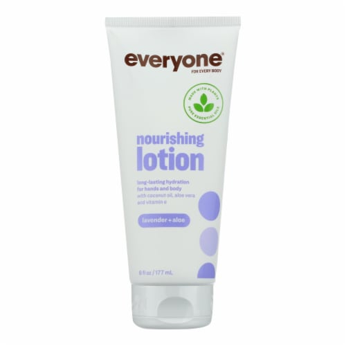 Everyone Lotion - Lavender Aloe - 6 oz Perspective: front