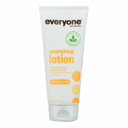 Everyone Lotion - Coconut Lemon - 6 oz Perspective: front