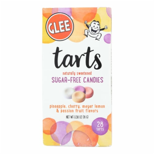 Glee Gum - Candy Tarts - Sugar Free - Case Of 12 - 28 Count Perspective: front