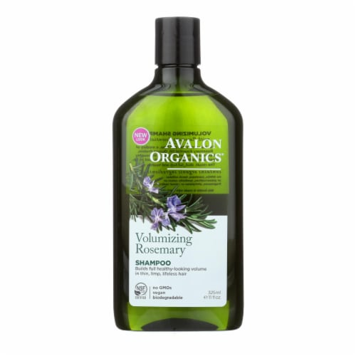 Avalon Organics Volumizing Shampoo Rosemary - 11 fl oz Perspective: front