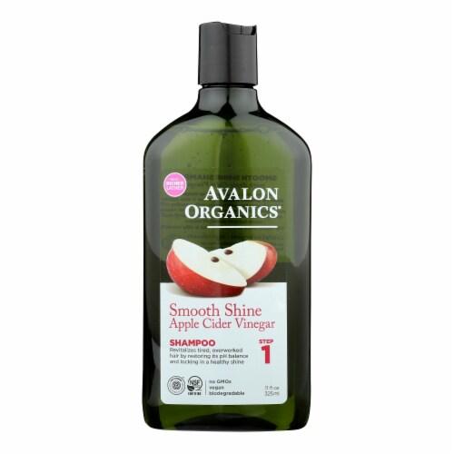 Avalon Shampoo - Smooth Skin - Apple Cider Vinegar - 11 fl oz Perspective: front