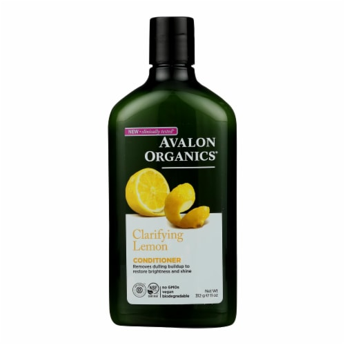 Avalon Organics Clarifying Conditioner Lemon - 11 fl oz Perspective: front