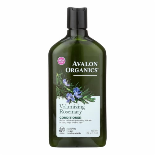 Avalon Organics Volumizing Conditioner with Wheat Protein and Babassu Oil Rosemary - 11 fl oz Perspective: front