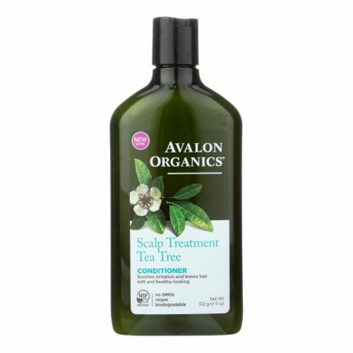 Avalon Organics Scalp Treatment Tea Tree Conditioner - 11 fl oz Perspective: front