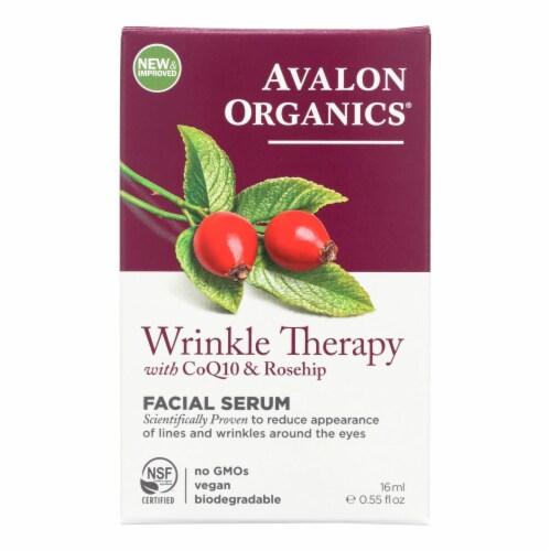 Avalon Organics CoQ10 Repair Wrinkle Defense Serum - 0.55 fl oz Perspective: front