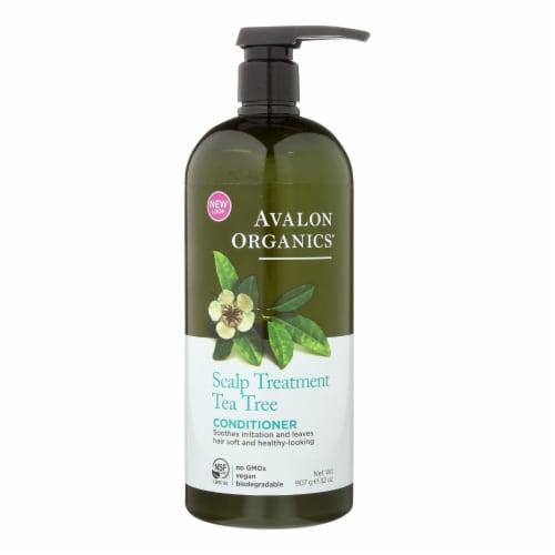 Avalon Conditioner - Organic Tea Tree - 32 oz Perspective: front