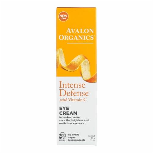Avalon Organics Revitalizing Eye Cream Vitamin C - 1 fl oz Perspective: front
