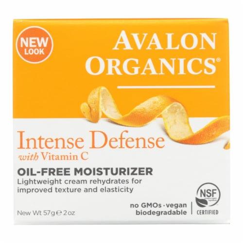 Avalon Organics Rejuvenating Oil-Free Moisturizer Vitamin C - 2 fl oz Perspective: front