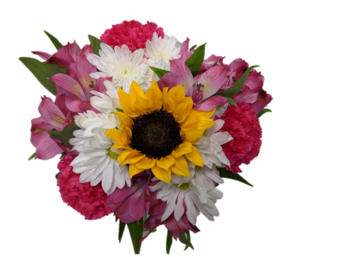 Riverdale Farms Feeling Fine Bouquet (Approximate delivery is 1-3 Days) Perspective: front