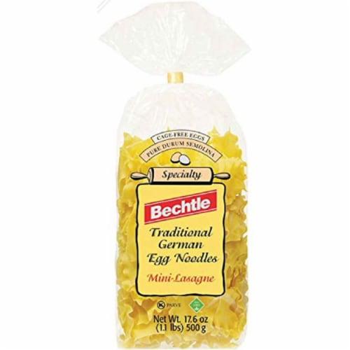 Bechtle Traditional German Egg Noodles Mini- Lasagna Pasta, 17.6 oz (Pack of 12) Perspective: front