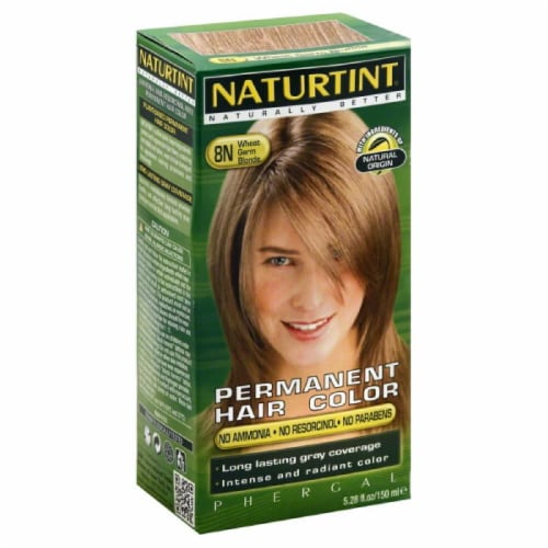 Naturtint Wheat Germ Blonde 8N Permanent Hair Color, 5.28 Fo Perspective: front