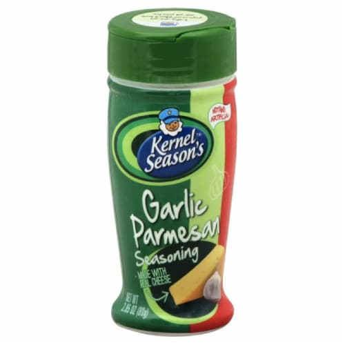 Kernel Seasons Garlic Parmesan Seasoning, 2.85 Oz (Pack of 6) Perspective: front