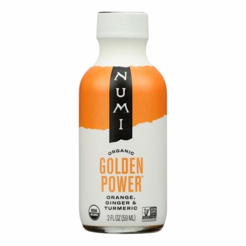 Numi Tea - Tea Shot Golden Power - Case of 6 - 2 OZ Perspective: front