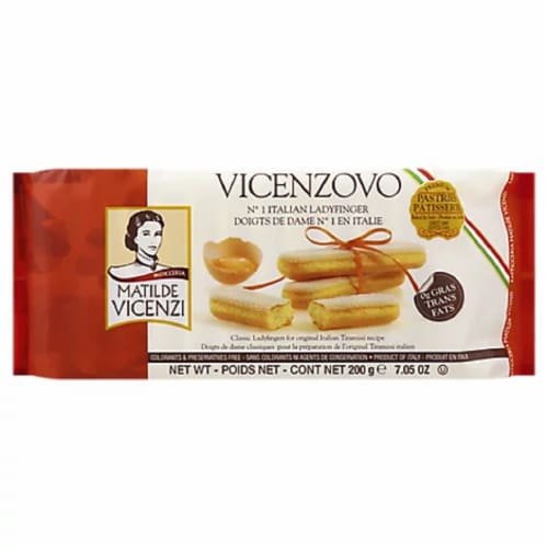 Vicenzi  Cookie Lady Finger, 7.5oz (Pack of 12) Perspective: front