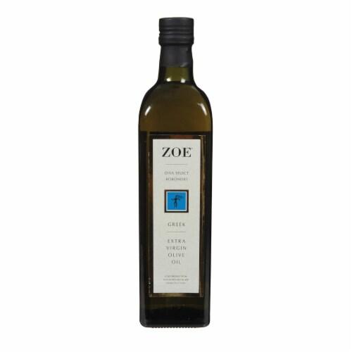 Zoe - Diva Greek Olive Oil - Case of 6 - 25.5 fl oz. Perspective: front