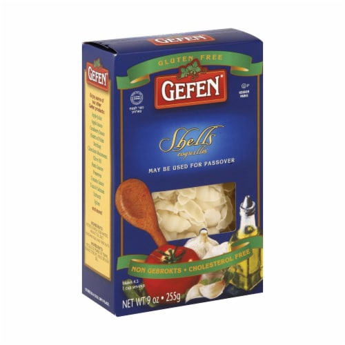 Gefen Noodles Shells - Case of 12 - 9 oz. Perspective: front