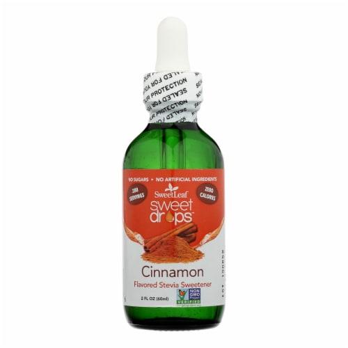 Sweet Leaf Liquid Stevia Cinnamon - 2 fl oz Perspective: front