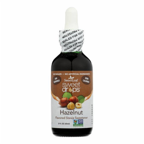 Sweet Leaf Liquid Stevia Sweet Drops - Hazelnut - 2 oz Perspective: front
