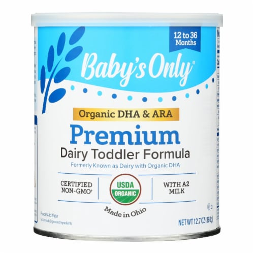 Babys Only Organic Toddler Formula - Organic - Dairy - DHA and ARA - 12.7 oz - case of 6 Perspective: front