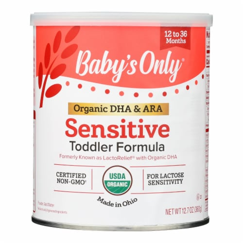 Babys Only Organic Toddler Formula - Organic - LactoRelief - Lactose Free - 12.7 oz - 1 each Perspective: front