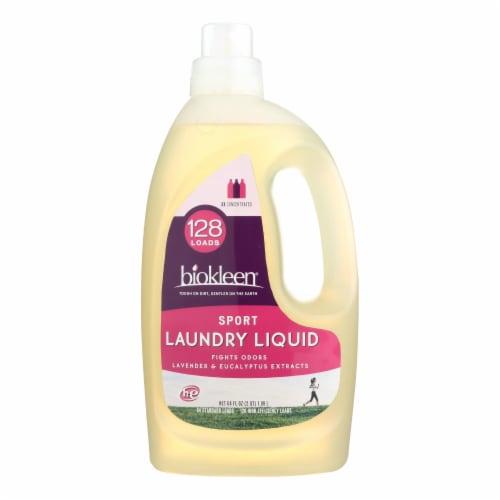 Biokleen Laundry Liquid - Sport - 64 oz Perspective: front