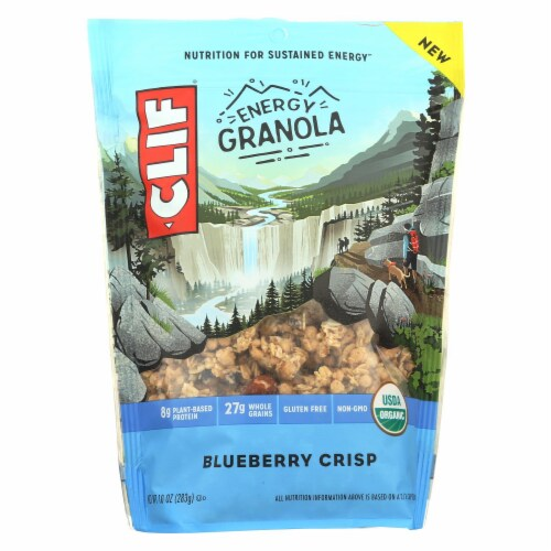 Clif Energy Granola Blueberry Crisp, 10 oz (Pack of 6) Perspective: front