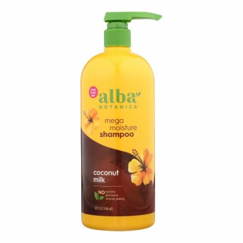 Alba Botanica - Hawaiian Shampoo - Drink It Up Coconut Milk - 32 fl oz Perspective: front