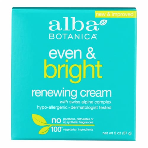 Alba Botanica - Natural Even Advanced Sea Plus Renewal Night Cream - 2 oz Perspective: front