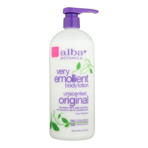 Alba Botanica - Very Emollient Body Lotion - Unscented - 32 fl oz Perspective: front