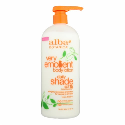 Alba Botanica - Very Emollient Natural Body Lotion SPF 15 - 32 fl oz Perspective: front