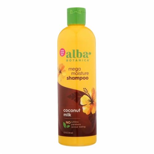 Alba Botanica - Natural Hawaiian Shampoo Drink It Up Coconut Milk - 12 fl oz Perspective: front