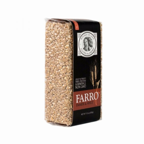 Cucina and Amore Beans - Farro - Case of 8 - 17.6 oz Perspective: front