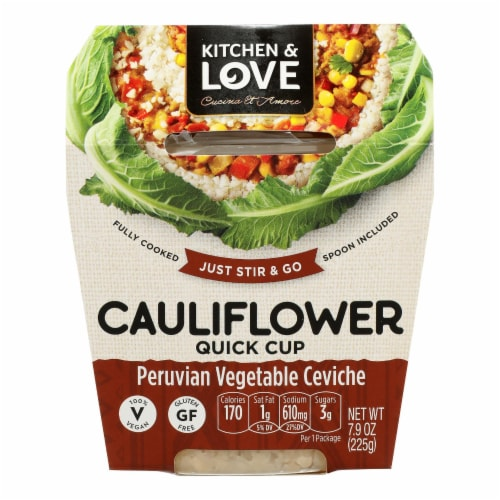 Cucina & Amore - Meal Cauliflower Peru Veg - Case of 6 - 7.9 OZ Perspective: front