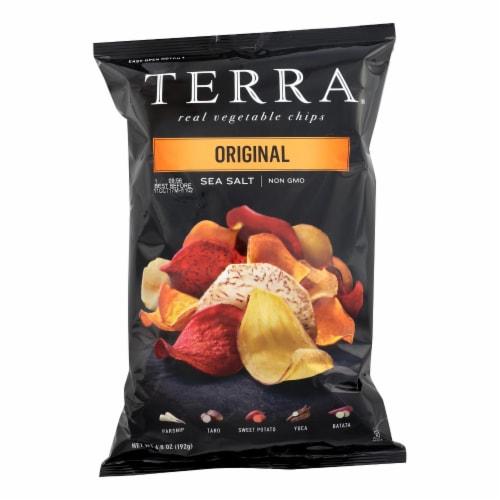 Terra Chips Exotic Vegetable Chips - Original - Case of 12 - 6.8 oz. Perspective: front