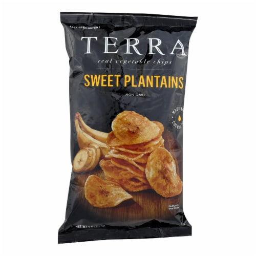 Terra Chips Veggie Chips - Sweet Plantains - Case of 12 - 5 oz Perspective: front