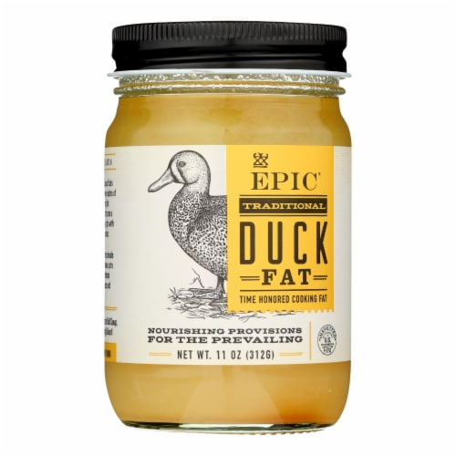 Epic - Oil Duck Fat - Case of 6 - 11 OZ Perspective: front