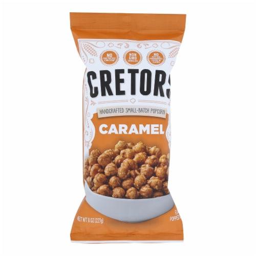 G.H. Cretors Popcorn - Just The Caramel - Case of 12 - 8 oz Perspective: front