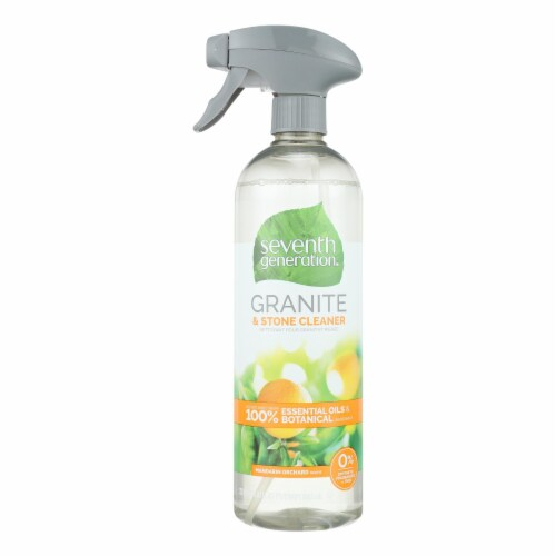 Seventh Generation - Granite Cleaner - Madarin Orchard - Case of 8 - 23 fl oz. Perspective: front
