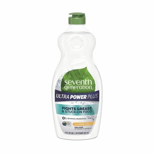 Seventh Generation - Dish Liquid Power Plus - Case of 6-19 FZ Perspective: front