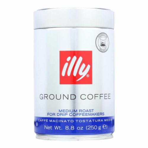 Illy Caffe Coffee Coffee - Drip - Ground - Medium Roast - 8.8 oz - case of 6 Perspective: front