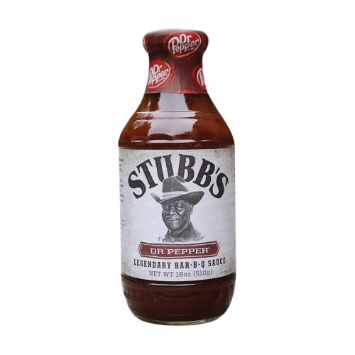 Stubb's Anytime Sauce - Sweet Black Pepper? - Case of 6 - 18 oz. Perspective: front