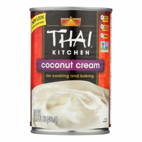 Thai Kitchen Unsweetened Coconut Cream Perspective: front