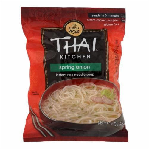 Thai Kitchen Instant Rice Noodle Soup - Spring Onion - Mild - 1.6 oz - Case of 6 Perspective: front