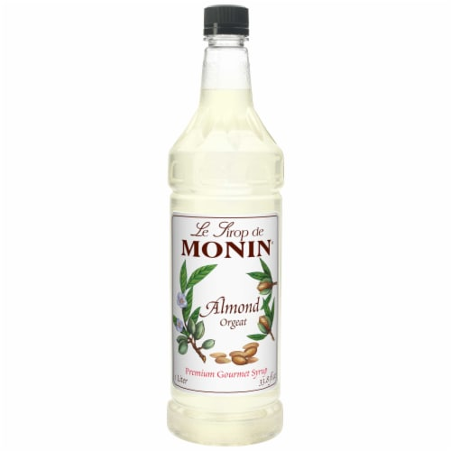Flavor Almond, 1 Liter -- 4 Case Perspective: front
