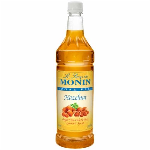 Hazelnut Flavor Petites Sugar Free, 1 Liter -- 4 Case Perspective: front